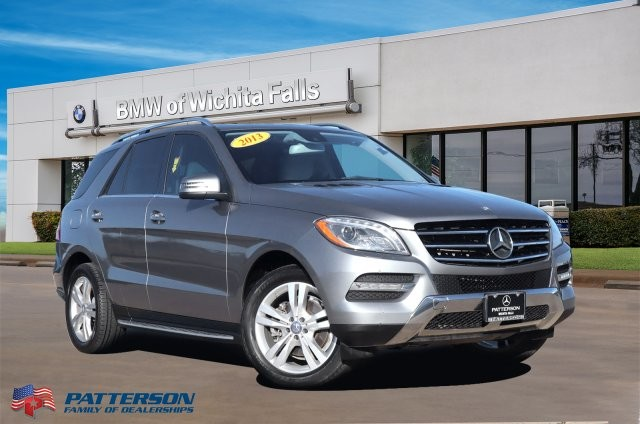 Pre-Owned 2013 Mercedes-Benz M-Class RWD 4DR ML 350