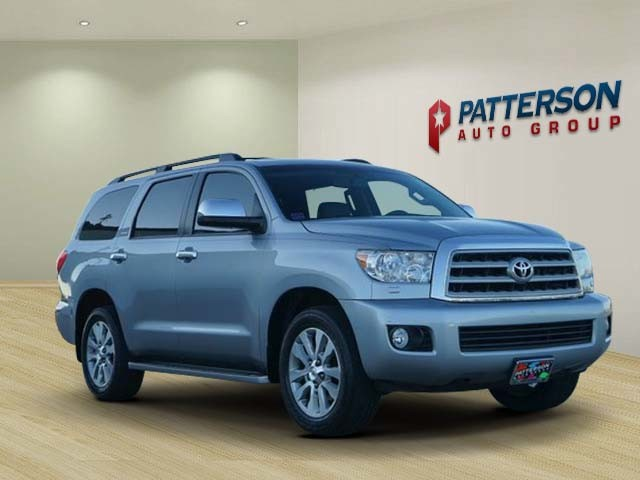 Pre Owned 2017 Toyota Sequoia Limited Leather Dvd