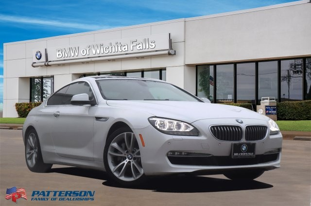 Pre-Owned 2012 BMW 6 Series 2DR CPE 640I
