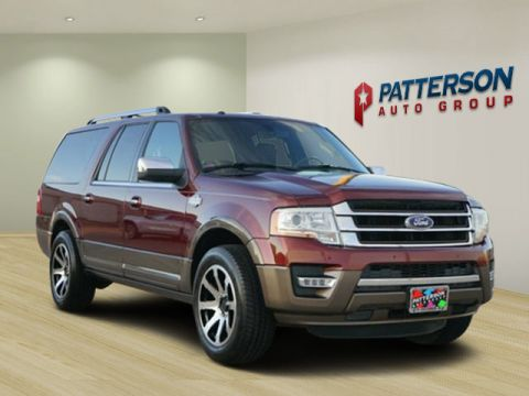 Pre-Owned 2015 Ford Expedition EL King Ranch